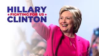 Hillary Clinton : fighting for us