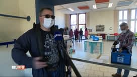 RTL INFO 13H : Coronavirus: l'école de Villers-Perwin aidée par les producteurs...