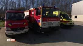 RTL INFO 13H : Les pompiers du Val de Sambre offrent du matériel à une province du...