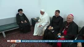 """RTL INFO 13H : En Irak, le pape et l'ayatollah chiite Sistani s'engagent pour la """"..."""