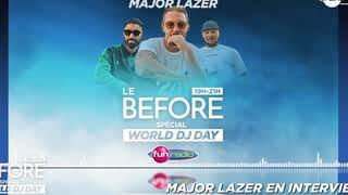 Major Lazer en interview pour le World DJ Day