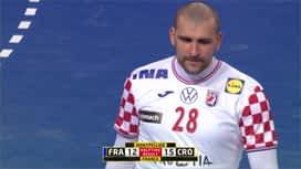 Rukometne kvalifikacije za Olimpijske igre : FRA - CRO / Francuska - Hrvatska - 2. poluvrijeme