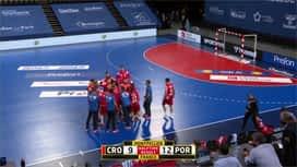 Rukometne kvalifikacije za Olimpijske igre : CRO - POR / Hrvatska - Portugal - 2. poluvrijeme