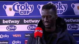 Croky Cup : 13/03 : Mbaye Leye ( Standard de Liège)