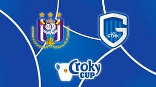 Croky Cup : 14/03 : RSC Anderlecht - Genk