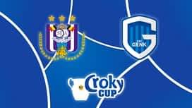 Croky Cup : 14/03 : RSC Anderlecht - Genk (Les buts)