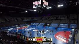 Rukometne kvalifikacije za Olimpijske igre : POR - FRA / Portugal - Francuska - 2. poluvrijeme