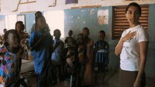 Caterina Murino, forza Africa