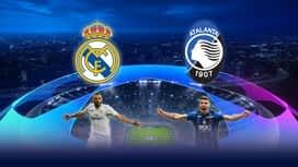 Champions League : 16/03 : Real Madrid- Atalanta (Les buts)
