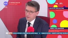 L'invité de 7h50 : Pierre-Yves Dermagne (25-03)