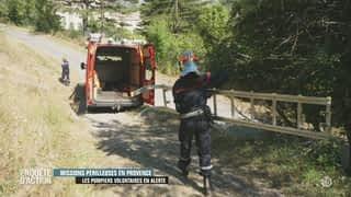 Missions périlleuses en Provence: les pompiers volontaires en alerte
