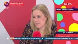 L'invité de 7h50 : Eva De Bleeker (31/03)
