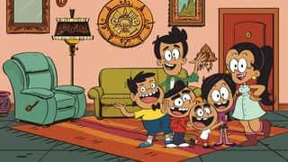 Une famille avec un grain de folie