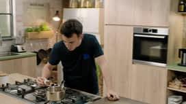 Loïc, fou de cuisine : Velouté chou-fleur et crevettes grises