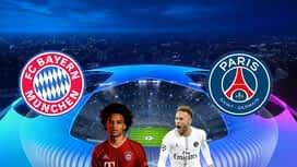 Champions League : 07/04 : Bayern Munich - PSG (les buts)