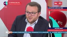 L'invité de 7h50 : Mathieu Bihet (08/04)
