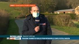 RTL INFO 19H : Disparition d'Estelle Mouzin: le point en direct des Ardennes franç...
