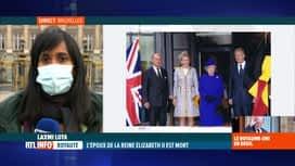 RTL INFO 19H : Décès du prince Philip: le palais royal belge présente ses condoléa...
