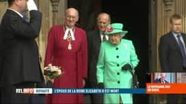 RTL INFO 19H : Décès du prince Philip: le monde salue la mémoire d'un homme de devoir