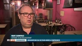 RTL INFO 19H : Les restaurateurs sont bien décidés à rouvrir le 1er mai, quoi qu'i...
