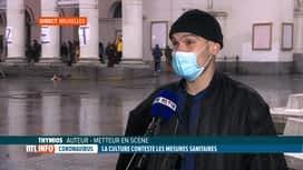 RTL INFO 19H : Culture: le monde du spectacle vivant se rebiffe et occupe plusieur...