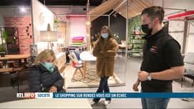 RTL INFO 19H : Le shopping sur rendez-vous reste un échec selon Comeos