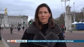 RTL INFO 19H : Décès du prince Philp: dernières nouvelles de Londres avec Charlott...