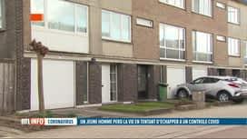 RTL INFO 19H : Coronavirus: incidents lors de contrôles de lockdown party en Flandre
