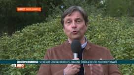 RTL INFO 19H : Coronavirus: le SNI plaide pour la réouverture de l'horeca le 1er mai