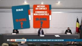 RTL INFO 19H : Horeca, métiers de contact, écoles, le codeco a un menu bien chargé