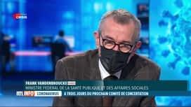 RTL INFO 19H : Coronavirus: le ministre de la Santé plaide pour un retour à l'écol...
