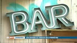 RTL INFO 19H : Coronavirus: une réouverture des terrasses dès le 1er mai à Liège ?