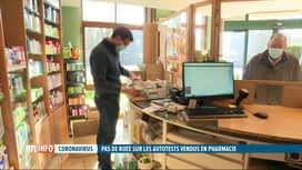 RTL INFO 19H : Coronavirus: succès mitigé pour les autotests vendus en pharmacie