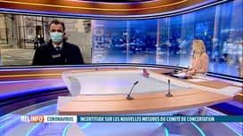RTL INFO 13H : Codeco: le point sur la réunion toujours en cours au Palais d'Egmont