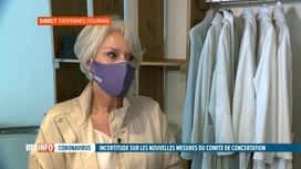 RTL INFO 13H : Codeco: réaction de Laurence Wuylens pour les esthéticiennes