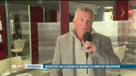 RTL INFO 13H : Codeco: réaction de Patrick Dumont pour les coiffeurs de Belgique