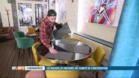RTL INFO 19H : Codeco: les terrasses des cafés et restaurants rouvertes dès le 8 mai