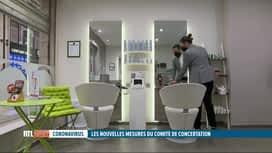 RTL INFO 19H : Codeco: rencontre avec un jeune coiffeur qui va enfin pouvoir ouvrir
