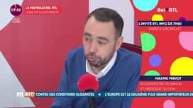 L'invité de 7h50 : Maxime Prevot