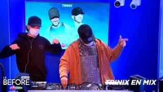 Trinix en mix et en interview dans Le Before