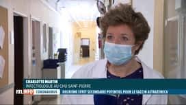 RTL INFO 19H : Coronavirus: le vaccin AstraZeneca accumule les problèmes