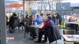 RTL INFO 19H : Coronavirus: certains Belges profitent des terrasses au Luxembourg