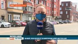 RTL INFO 13H : L'état d'esprit des riverains de Liège au lendemain d'une fusillade