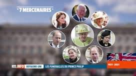 """RTL INFO 13H : Décès du prince Philip: la monarchie se ressère autour de membres """"..."""