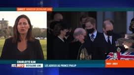 RTL INFO 19H : Funérailles du prince Philip: William et Harry ensemble à la sortie...