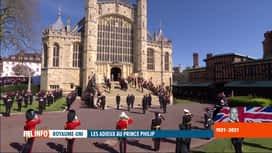RTL INFO 19H : Funérailles du prince Philip: retour sur la cérémonie à Windsor