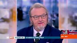 RTL INFO 19H : Funérailles du prince Philip: analyse de la cérémonie par Christian...