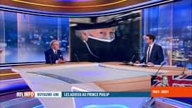 RTL INFO 19H : Funérailles du prince Philip: quel sera la suite du règne d'Elizabe...