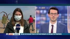 RTL INFO 13H : Quel bilan tirer à la Côte belge après 3 semaines de vacances de Pâ...