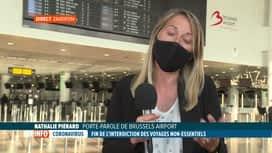RTL INFO 19H : Brussels Airport se prépare à la reprise des voyages à l'étranger